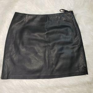 Lather Skirt Sz 8